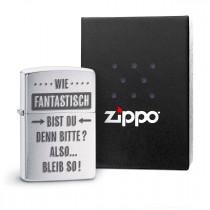 Original Zippo Benzinfeuerzeug: Wie fantastisch bist du denn bitte
