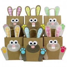 DIY Osternester für Kinder mit bunten Osterhasen - Ostergeschenke für Kinder und Erwachsene - Osterdeko - Ostern 2021