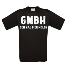 Funshirt weiß oder schwarz - GMBH
