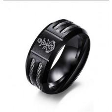 Herrenring / Damenring  Ring aus Edelstahl mit Ankersymbol