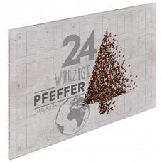 Pfeffer-Adventskalender - mit 24 erlesenen Pfeffersorten aus aller Welt