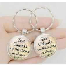 Schlüsselanhänger Best Friends Are The Sisters We Choose - Freundschaftsanhänger