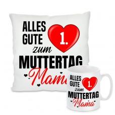 """Kissen oder Tasse: Alles gute zum """"Wunschzahl"""" Muttertag Mama"""