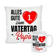 """Kissen oder Tasse: Alles gute zum """"Wunschzahl"""" Vatertag Papa"""