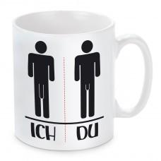 Tasse: Ich - Du
