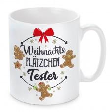 Tasse mit Motiv - Weihnachtsplätzchen Tester.