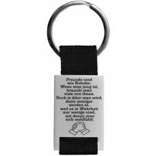 Metall Schlüsselanhänger Modell: Freunde sind wie...