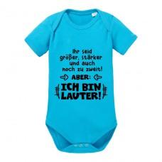 Babybody Modell: Ihr seid größer, stärker und auch noch zu zweit! ABER: ICH BIN LAUTER!