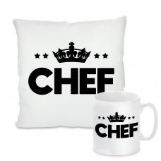Kissen oder Tasse: Chef
