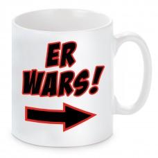 Tasse mit Motiv - ER WARS