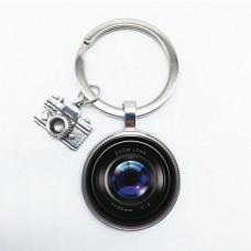 Schlüsselanhänger Linse und Kamera / Fotograf