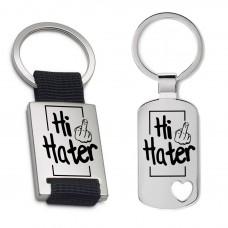 Schlüsselanhänger: Hi Hater