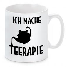 Tasse mit Motiv - Ich mache Teerapie