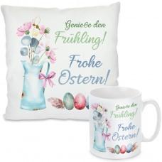 Kissen oder Tasse: Genieße den Frühling