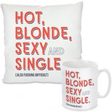 Kissen oder Tasse: Hot blonde sexy and single
