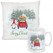 Kissen oder Tasse mit Motiv - Merry Christmas