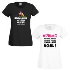 Shirts zum Junggesellinnenabschied - Küss mich - Braut - individualisierbar