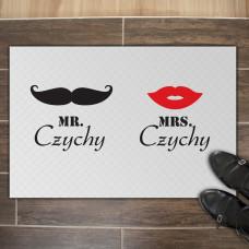 Fußmatte - Modell: Mr. & Mrs.