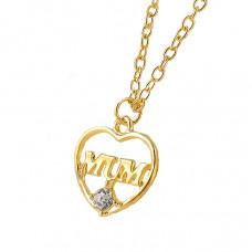 Halskette in Herzform Modell - MUM