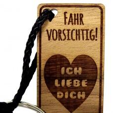 Schlüsselanhänger zu Valentin Fahr vorsicht Ich liebe Dich
