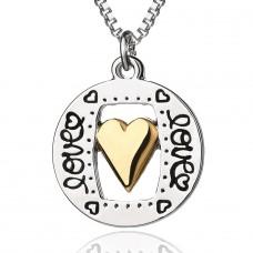 """Halskette mit Anhänger """"Love"""""""