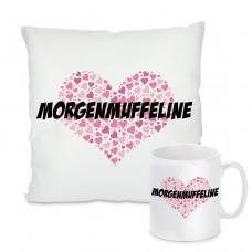 Kissen oder Tasse: Morgenmuffeline