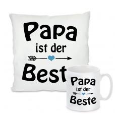 Kissen oder Tasse: Papa ist der Beste