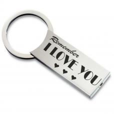 Metall Schlüsselanhänger Modell: Remember