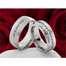 Trauringe Eheringe Verlobungsringe mit Ihrer individuellen Lasergravur