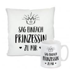 Kissen oder Tasse: Sag einfach Prinzessin zu mir