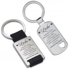 Schlüsselanhänger: Liebe bedeutet...