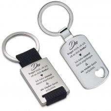 Metall Schlüsselanhänger - Du fragst mich, ob ich oft an dich denke?
