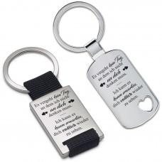 Metall Schlüsselanhänger - Es vergeht kein Tag ...