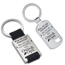 Metall Schlüsselanhänger - Was ich mir wünsche?