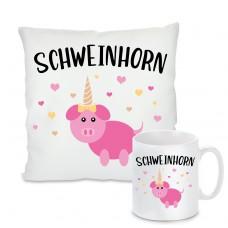 Kissen oder Tasse: Schweinhorn