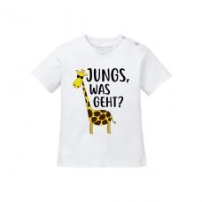 Babyshirt - Modell: Jungs, was geht?