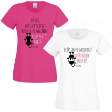 Shirts zum Junggesellinnenabschied - Blödsinn machen - individualisierbar
