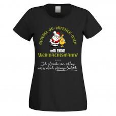 Funshirt weiß oder schwarz, als Tanktop oder Shirt - Glaubst du wirklich noch an den Weihnachtsmann?