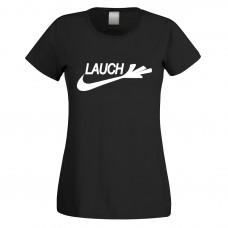 Funshirt weiß oder schwarz, als Tanktop oder Shirt - Lauch