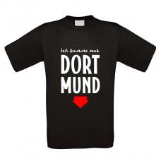 Funshirt weiß oder schwarz, als Tanktop oder Shirt - Dortmund