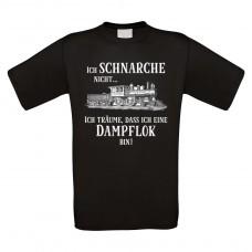 Funshirt weiß oder schwarz, als Tanktop oder Shirt - Ich schnarche nicht...