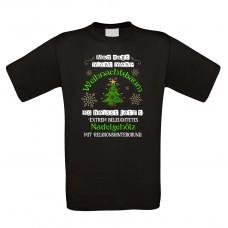 Funshirt weiß oder schwarz, als Tanktop oder Shirt - Man sagt nicht mehr Weihnachtsbaum....