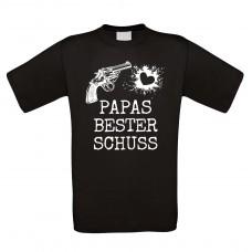 Funshirt weiß oder schwarz, als Tanktop oder Shirt - PAPAS BESTER SCHUSS.