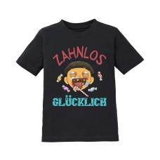 Kinder T-Shirt Modell: Zahnlos glücklich!