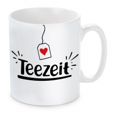 Tasse mit Motiv - Teezeit