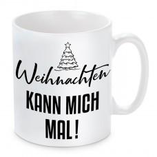Tasse mit Motiv - Weihnachten kann mich mal!