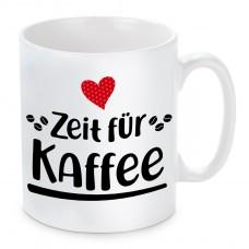 Tasse mit Motiv - Zeit für Kaffee