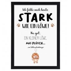 Wandbild: Stark wie ein Löwe