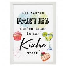Wandbild: Die besten Parties