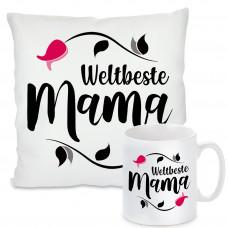 Kissen oder Tasse: Weltbeste Mama